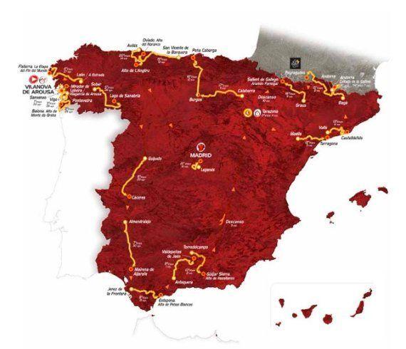 Recorrido Vuelta a España 2013: ¿Ya sabes si la ronda pasará cerca de tu