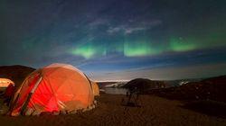 Así es ver una aurora boreal en