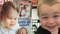 Este niño cree que es el príncipe Jorge... y no vamos a quitarle la ilusión