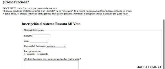 La Marea Granate propone a los abstencionistas que voten por los emigrantes que no pueden