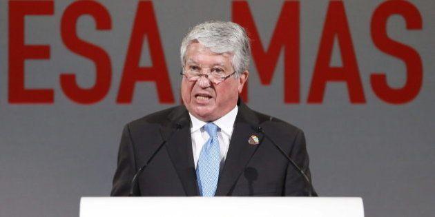 Arturo Fernández, presidente de la CEOE, cree que Eurovegas es
