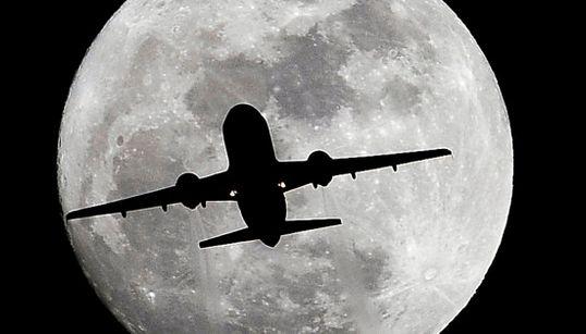 Así ha sido la primera Nochebuena con luna llena en 38