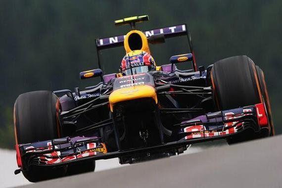 Vettel suma y sigue en Spa