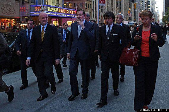 25-S: Y mientras... Rajoy se fuma un puro en Nueva York