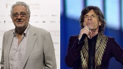 Plácido Domingo y Mick Jagger se parecen más de lo que imaginas (FOTOS,