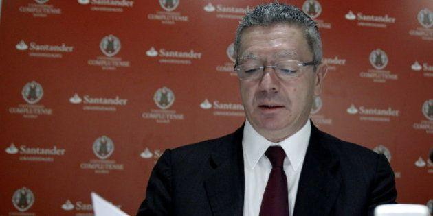 Gallardón lamenta que la Audiencia excarcelase a 'narcos' sin esperar al