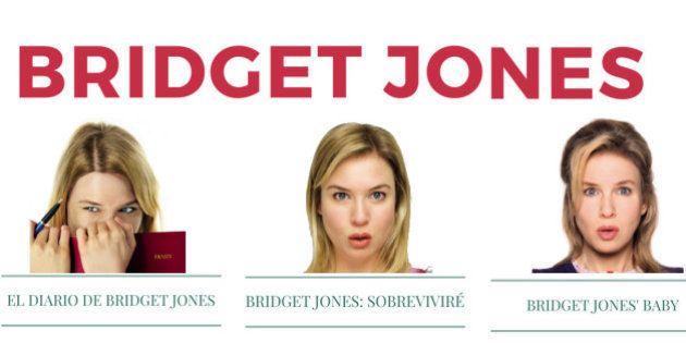 Bridget Jones: así ha cambiado la protagonista en las tres películas de la saga