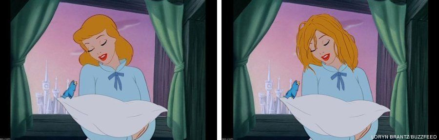 Si el pelo de las princesas Disney fuese como en la vida real