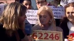 Trabajadores de Telemadrid 'cuelan' su protesta en TVE