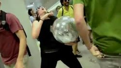 Fiesta #cierrabankia: la última 'flashmob
