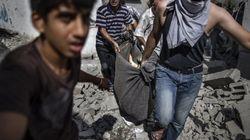Aparecen 130 cadáveres entre escombros en la Franja de
