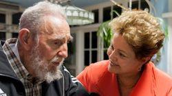 Las visitas de las presidentas a Fidel Castro