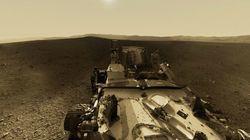 Marte en 360º: esto es lo que ve Curiosity