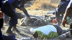 La Policía de Sudáfrica mata a 37 mineros