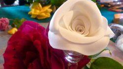 Flores que se comen y otros platos para regalar en San