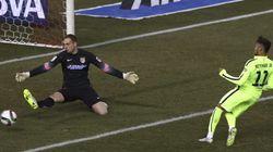 El Barça elimina al Atleti (2-3) tras un partido de