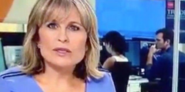 María Rey pierde una lentilla en directo... y las redes reaccionan
