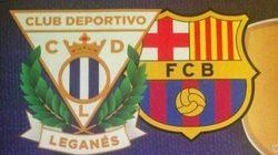 El Leganés recurre a la chanza para recibir al Barça: