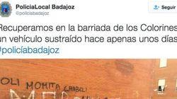 La Policía de Badajoz provoca la risa con este