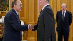 El rey al nuevo gobernador del Banco de España: