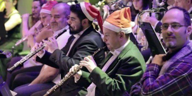 Les dejaron vivir una orquesta por dentro y pasó