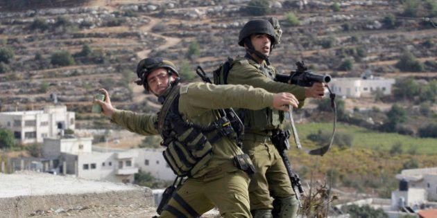 Soldados israelíes matan a tres palestinos en pleno proceso de
