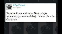 Pequeño terremoto en Valencia... y cachondeo en Twitter con