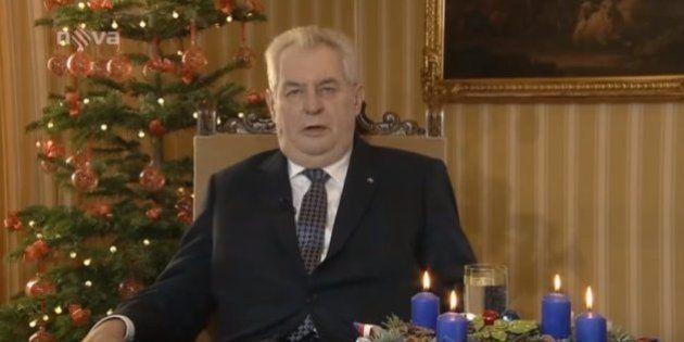 El presidente de la República Checa habla de