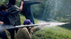 Más choques entre mineros y Guardia Civil en Asturias
