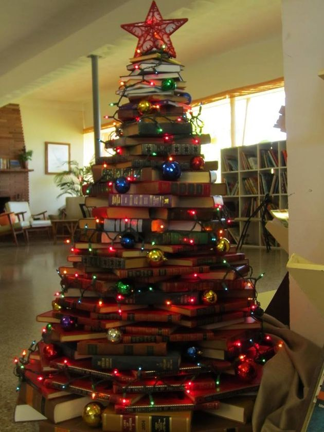 Los árboles de Navidad más peculiares