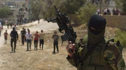Enfrentamientos en el entierro de los palestinos muertos en