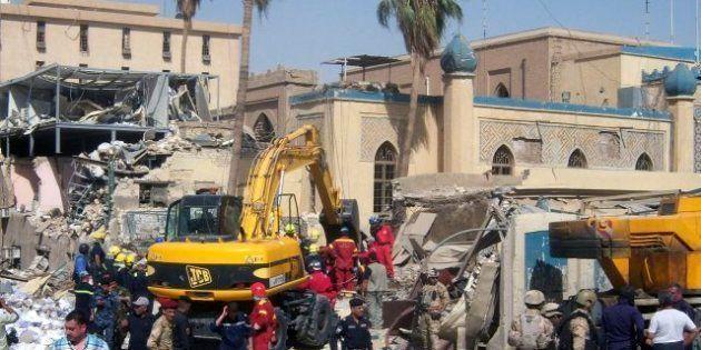 Mueren al menos 57 personas en una oleada de ataques contra objetivos chiíes y el Ejército en