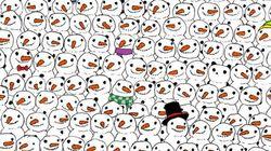 ¿Ves el oso panda? El dibujo que triunfa en
