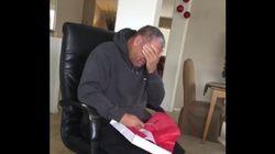 Este padre recibe el regalo de Navidad más emotivo de parte de sus