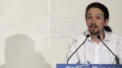 Pablo Iglesias, candidato a presidir el Parlamento