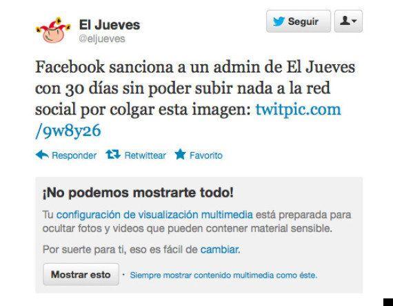 Facebook veta a 'El Jueves' una portada con Merkel y Rajoy practicando sado