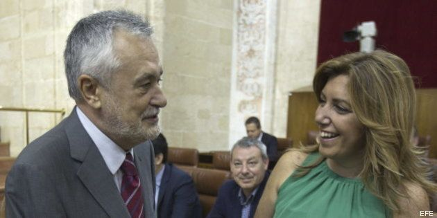 Griñán se despide como presidente de Andalucía bajo la sombra de los