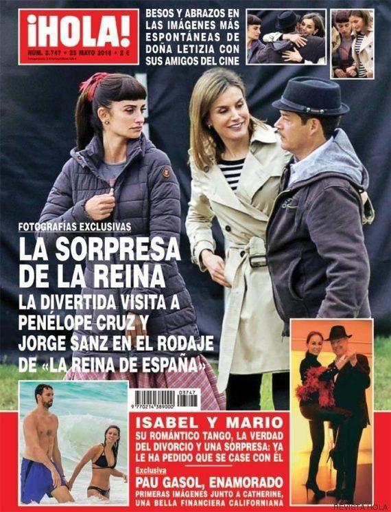 La reina de España en 'La reina de España': Letizia visita el rodaje de Fernando