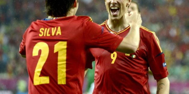 España-Irlanda: Goleada, calma y liderato de grupo