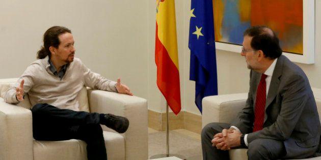 Iglesias y Rivera se reúnen con Rajoy en