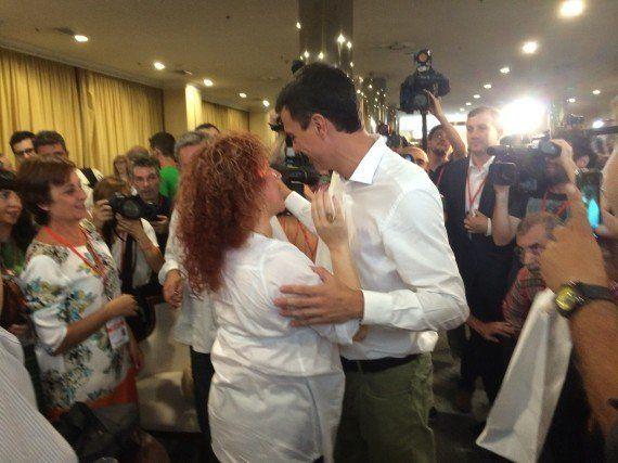 Los momentos 'fan' en el congreso del PSOE