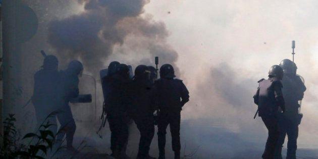 El conflicto minero se recrudece: fuertes enfrentamientos entre la Guardia Civil y los piquetes