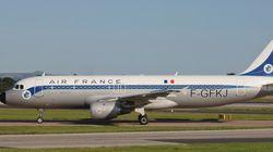 Air France hace una colecta entre sus pasajeros para poder