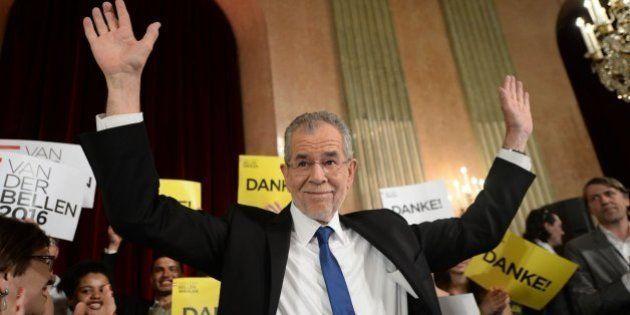 El ecologista Van der Bellen gana a la ultraderecha en las elecciones de