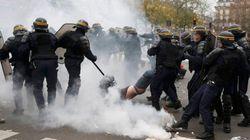 Contundente carga policial contra los ecologistas en
