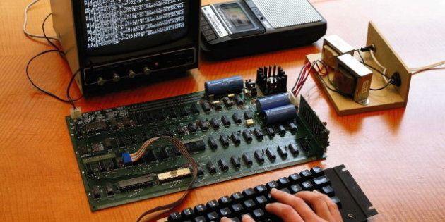 Subastado por 296.000 euros uno de los primeros ordenadores