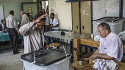 Egipto cierra urnas con menor participación de la esperada y algunos