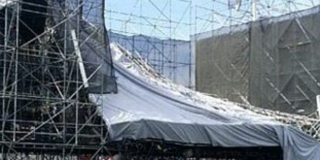 El escenario de Radiohead en Toronto se desploma horas antes de tocar y deja un