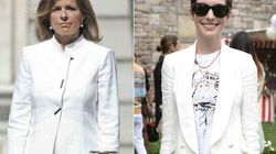 De Ana Botella a Anne Hathaway, todas llevan el traje blanco