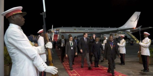 Rajoy, el primer presidente español que visita Guinea Ecuatorial en 23